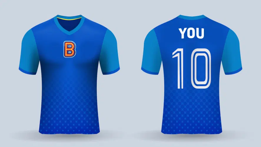 A Beano football shirt
