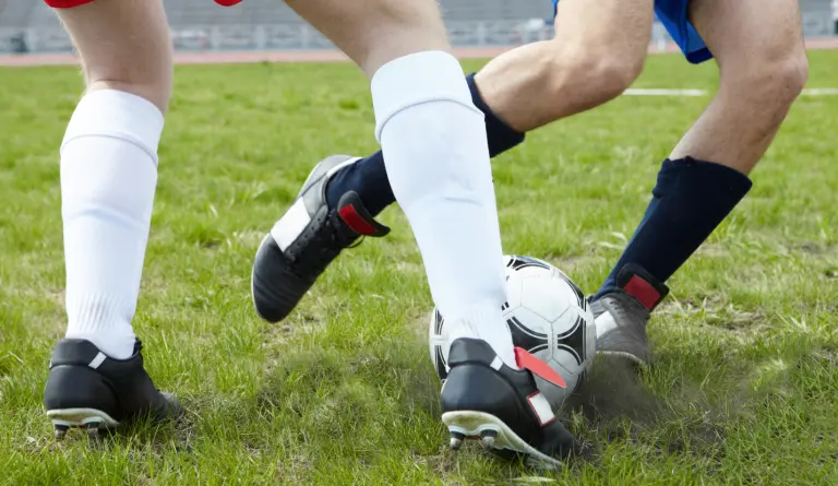 A football tackle