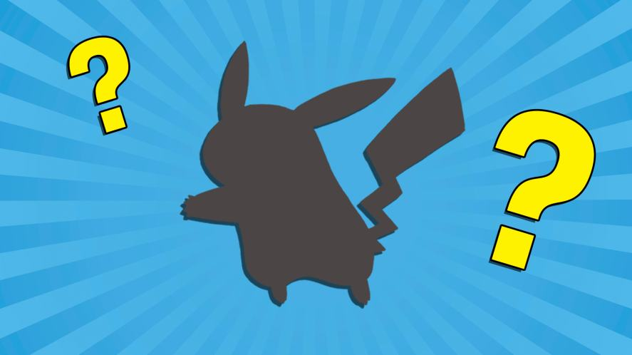 Silhouette of some kind of long-eared animal