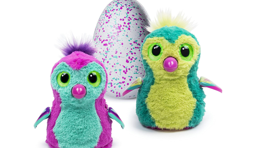 Hatchimals and eggs