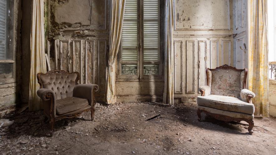 Sppoky room