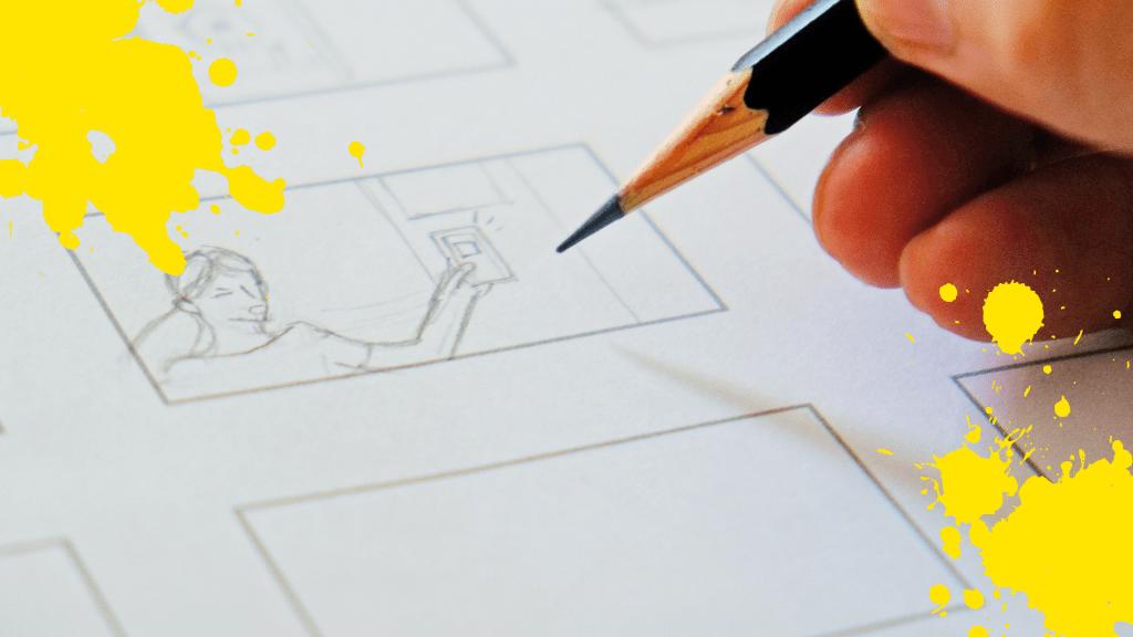 Animator drawing