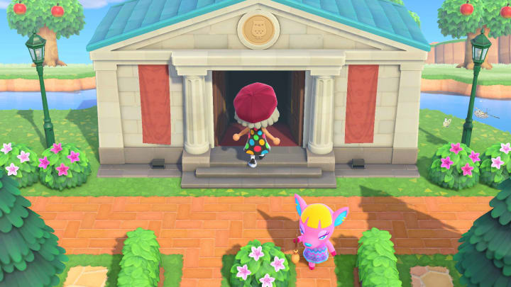 The Museum in Animal Crossing