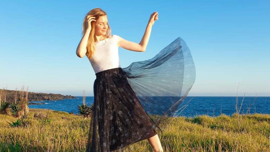 Sara by the sea