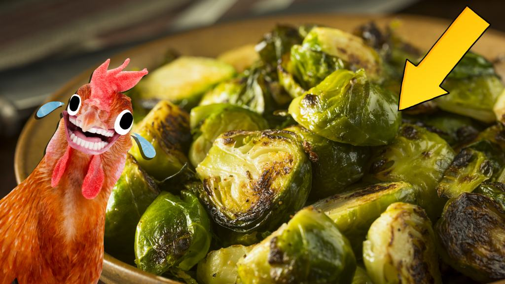A plate of delicious brussels sprouts