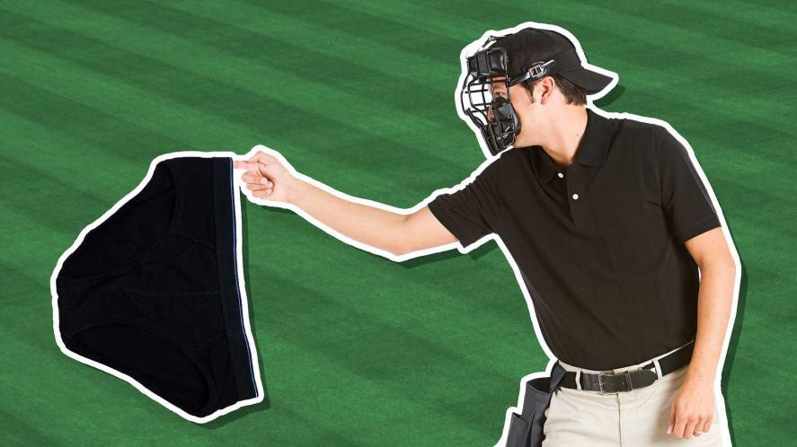 Baseball umpire and pants