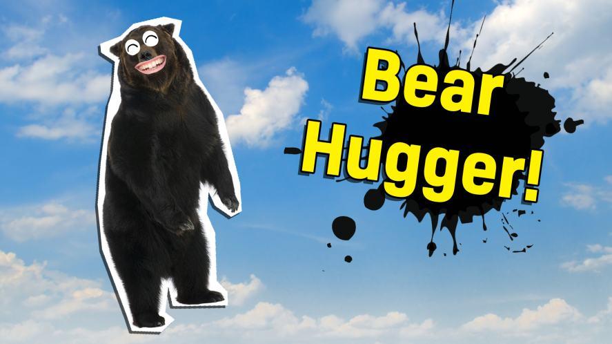 The bear hugger!