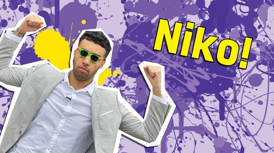 You're Niko!