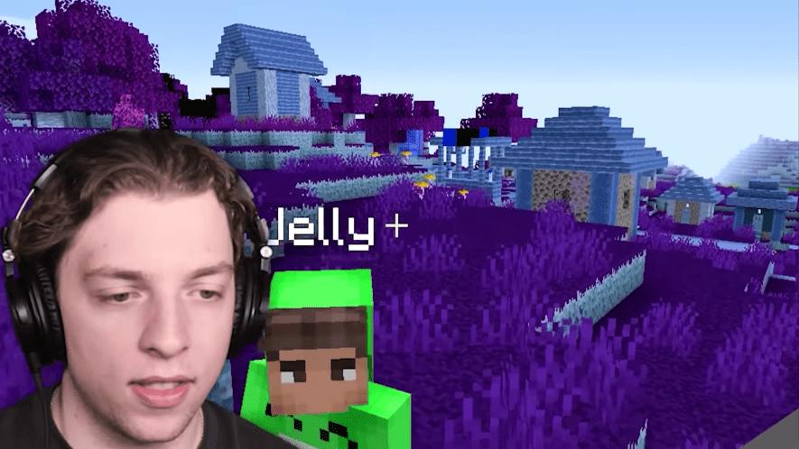 Slogo playing Minecraft
