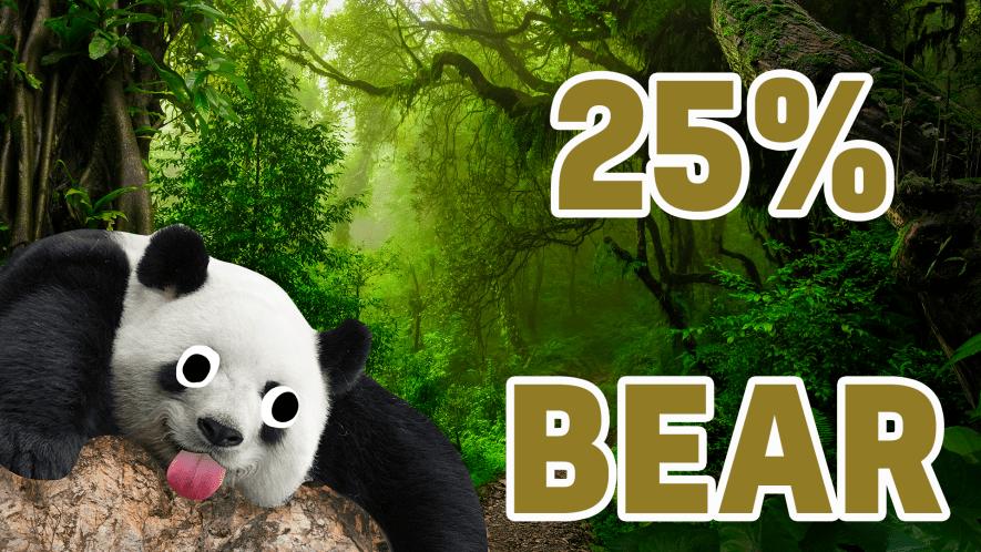 25% Bear result