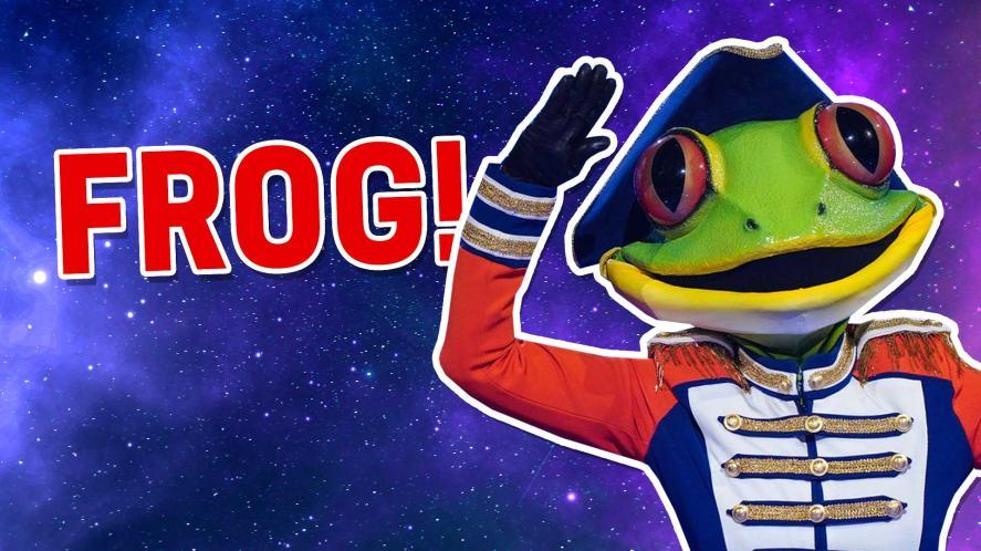 The Masked Dancer's Frog