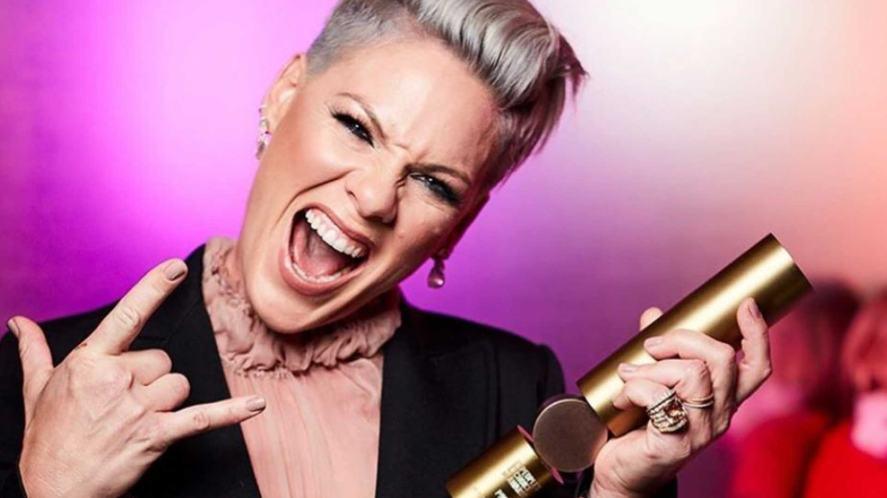 Pop star Pink