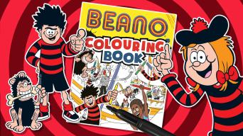 Beano Colouring Book