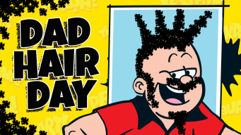 Dad Hair Day