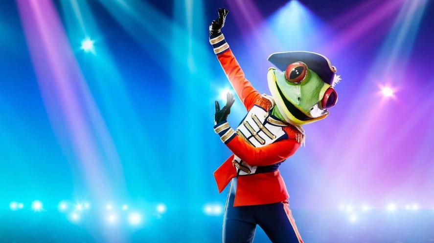 Frog on The Masked Dancer