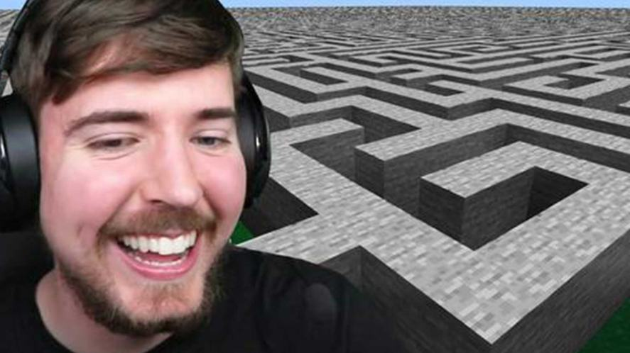 MrBeast and an impossible maze