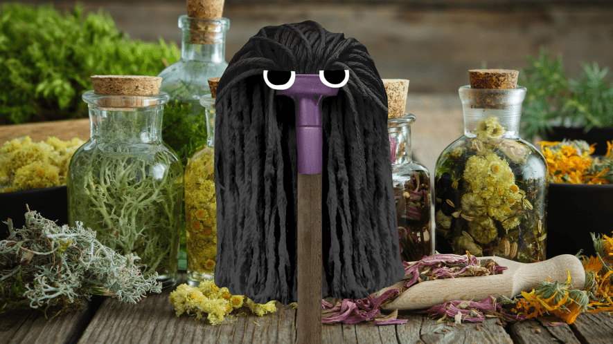 Snape mop and potions