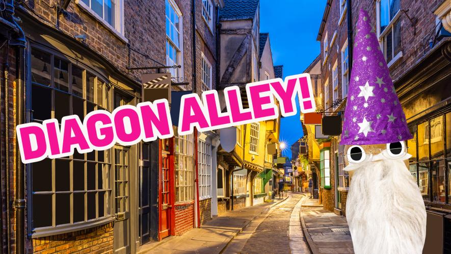 Diagon Alley result