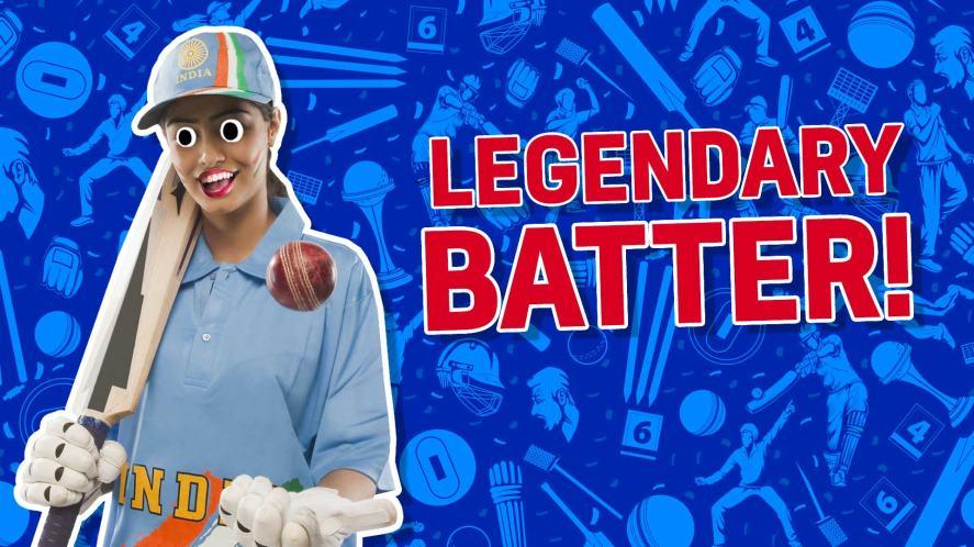 Result: Legendary batter