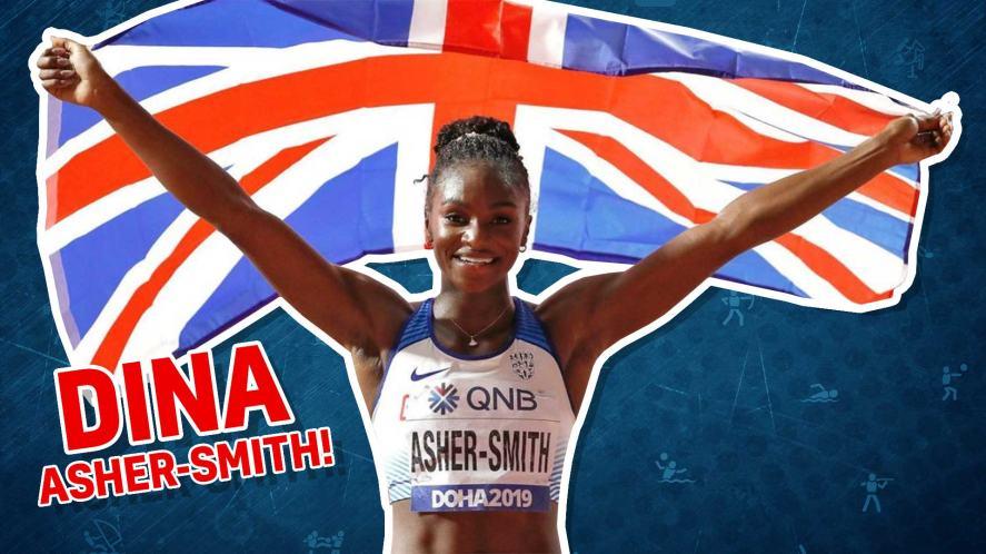 Team GB's Dina Asher-Smith