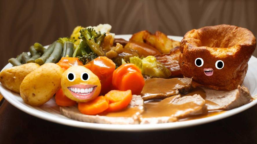 A delicious Sunday dinner