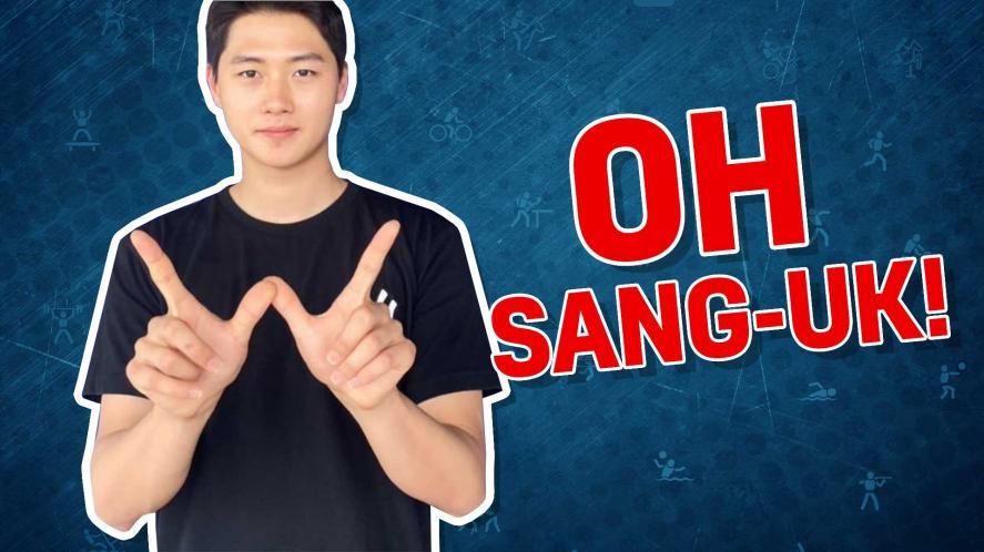 Korean fencer Oh Sang-Uk