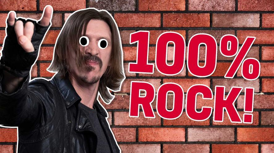 Result: 100 per cent rock