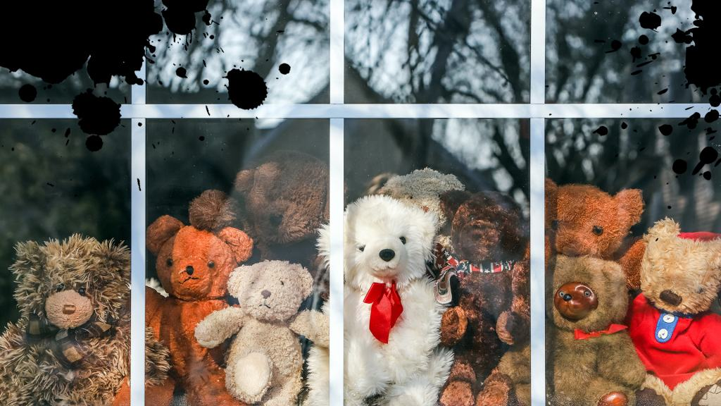 A selection of teddies