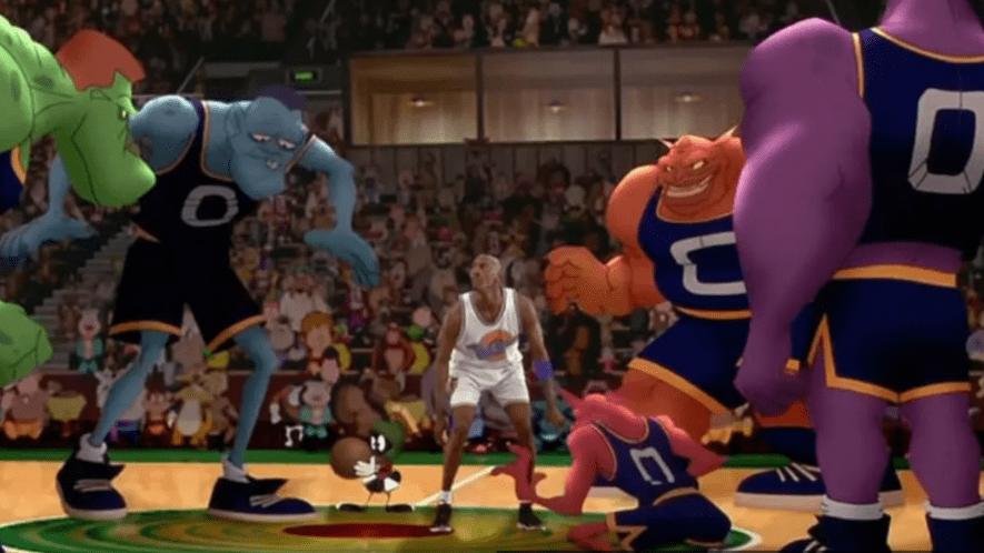 Alien basketball team