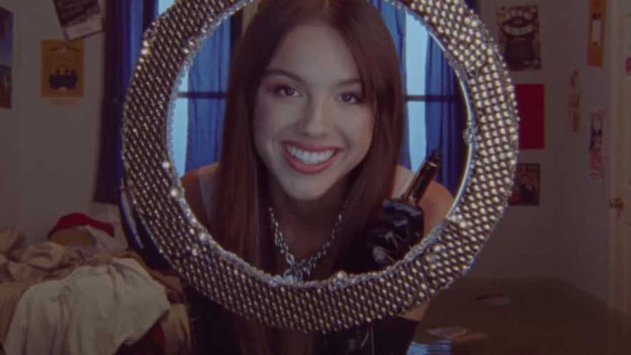 Olivia Rodrigo Music Video Screenshot