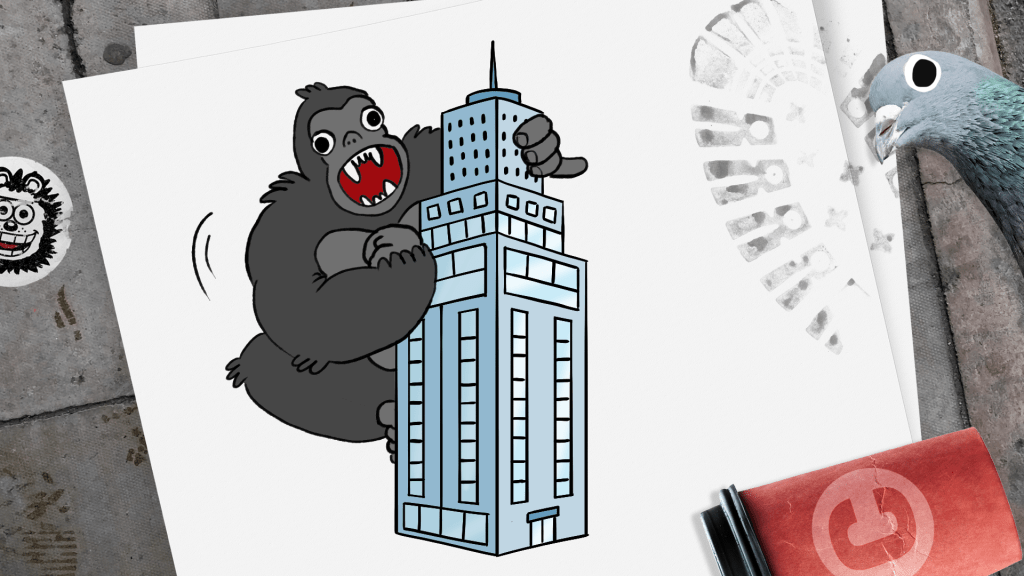How to Draw a Skyscraper step 11