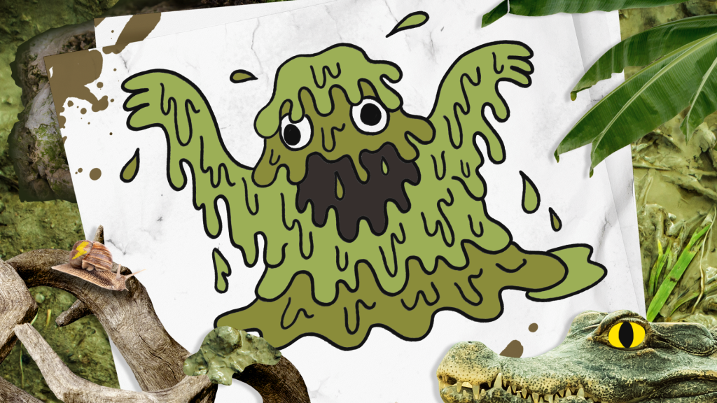 How to Draw a Swamp Monster step 10