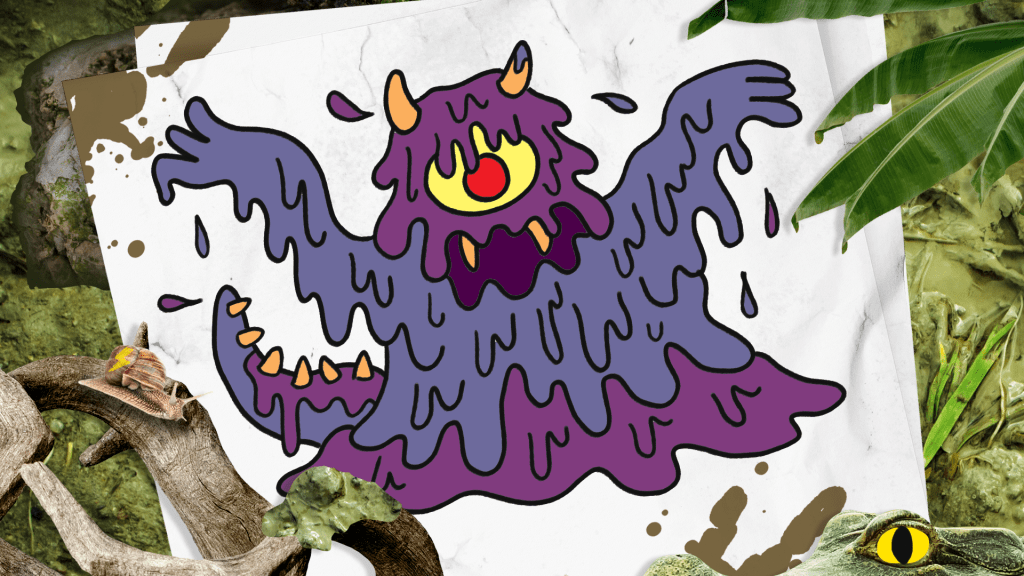 How to Draw a Swamp Monster step 11