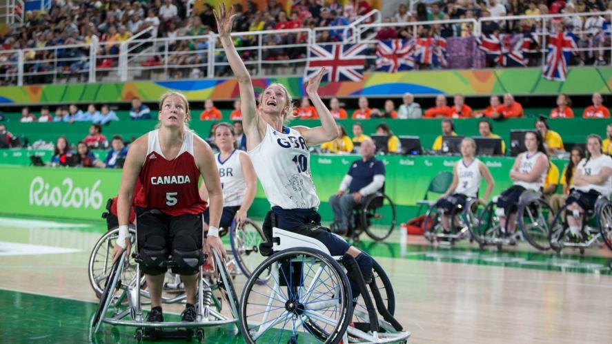GB athlete Amy Conroy
