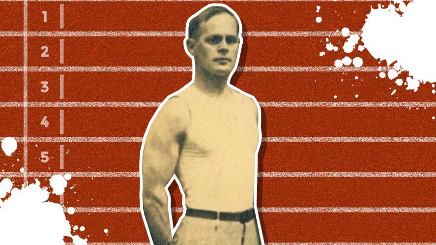 A German-born gymnast