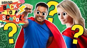 Back to School Superhero quiz
