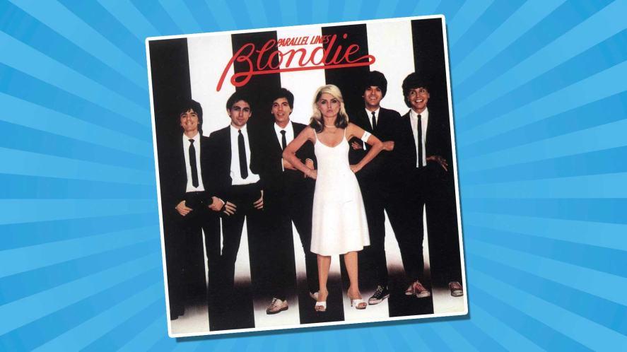 Blondie's Parallel Lines album cover