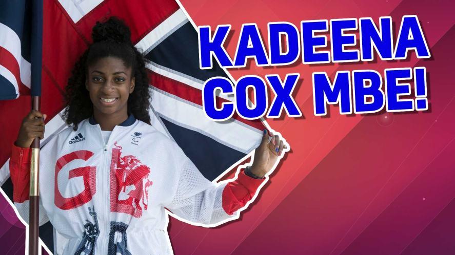 Kadeena Cox MBE