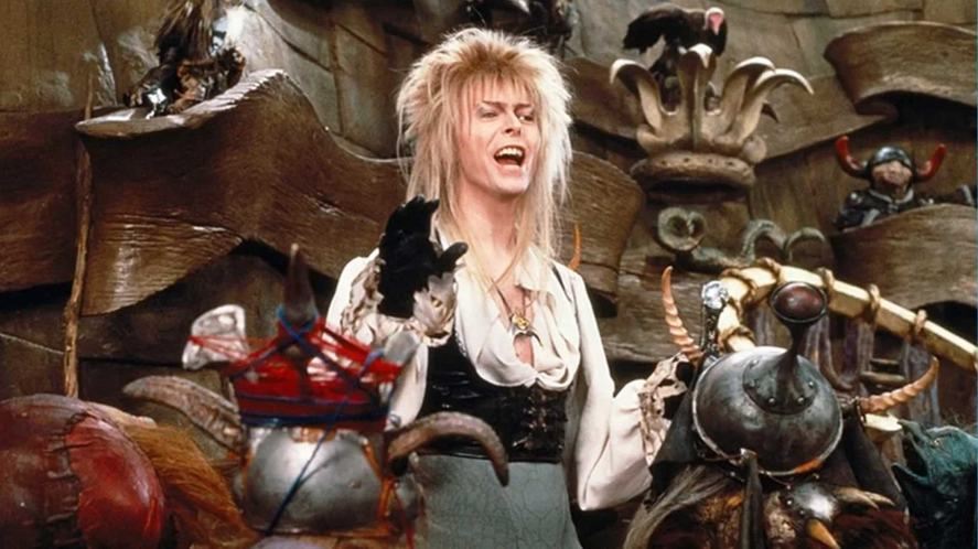 A singer-actor in Labyrinth