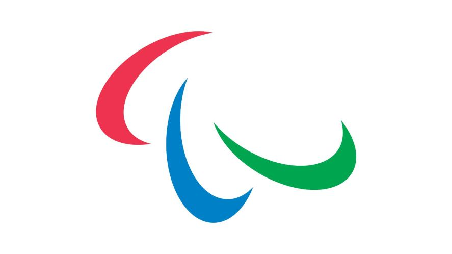 Paralympics logo in colour
