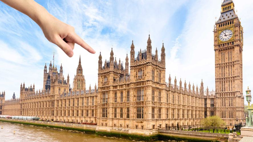 A political headquarters in London