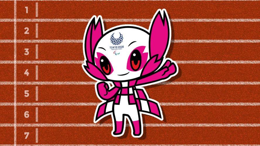 The Tokyo 2020 Paralympics mascot