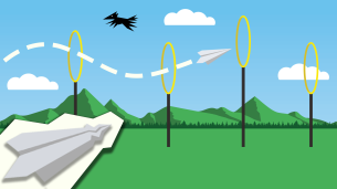Want to fly a paper plane?