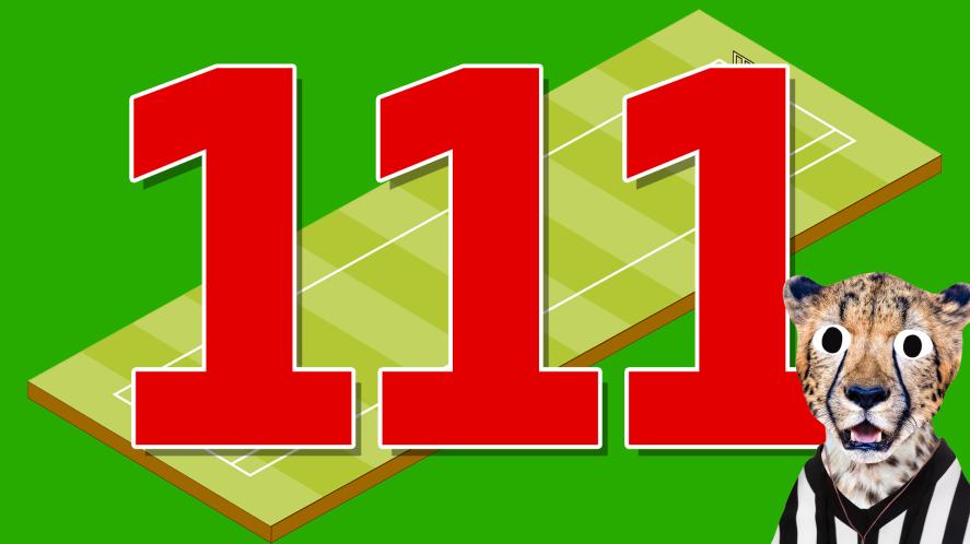 111 cricket runs