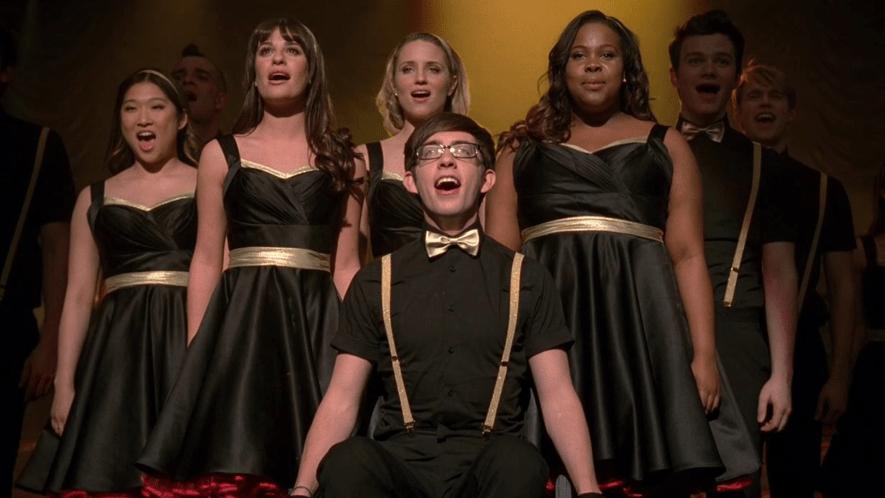 Screenshot from Glee