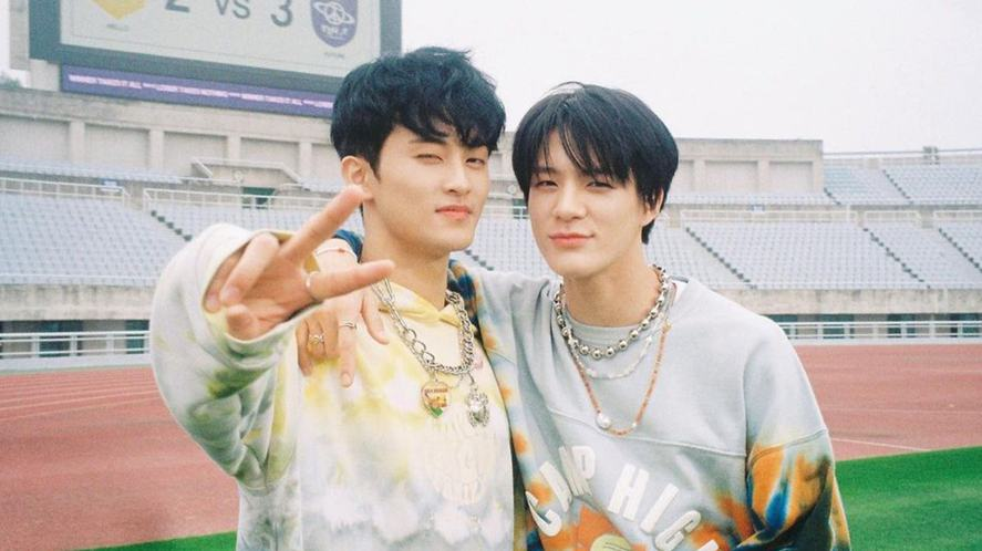 Two members of NCT