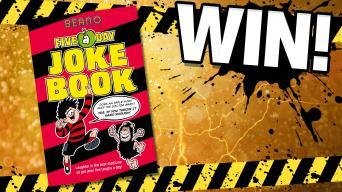 Win Beano Five-a-Day Joke Book