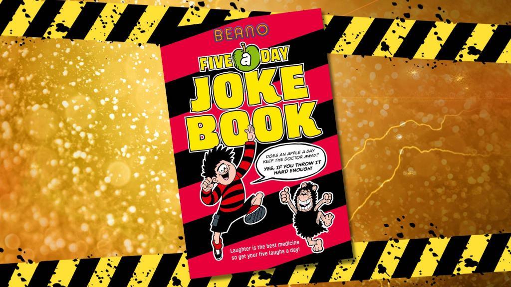 Beano Five-a-Day Joke Book cover