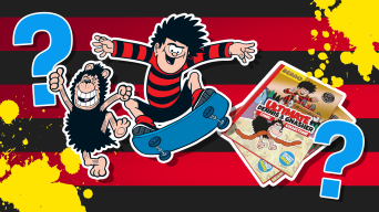 Dennis and Gnasher quiz