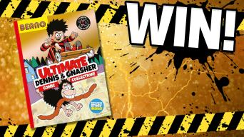 Win the Ultimate Dennis & Gnasher Comic Collection Book